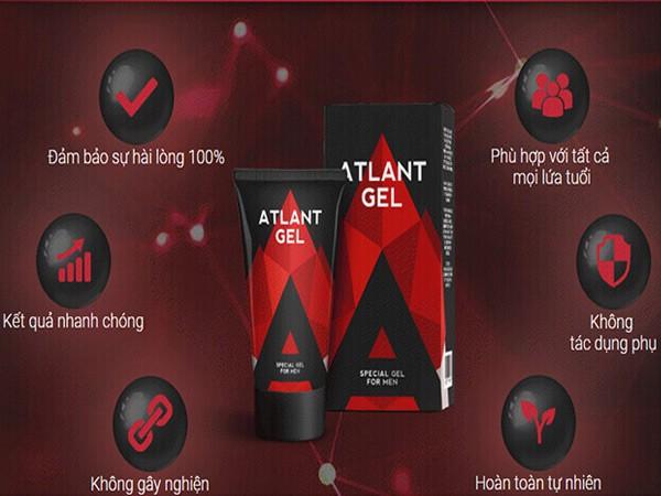 Ưu điểm của Atlant Gel