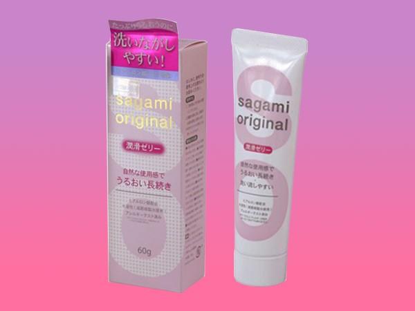 Gel bôi trơn Sagami Original sẽ giúp phái nữ tự tin hơn mỗi khi giường chiếu