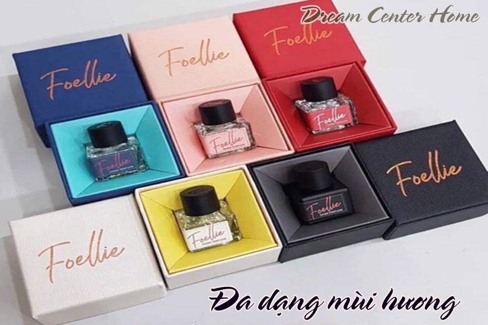 Một số mùi hương của nước hoa Foellie