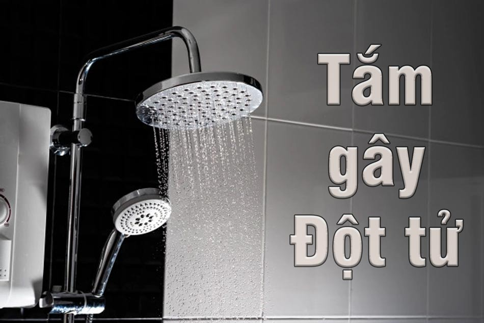 Tắm ngay lập tức sau khi quan hệ dễ đột tử